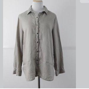 J. Jill Womens XS Button Up Longsleeve Shirt
